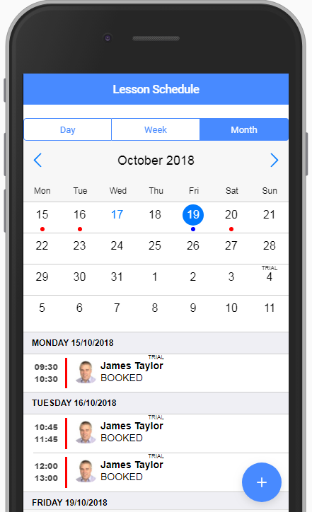 Scroll Event to top of list - Mobiscroll for Angular & Ionic